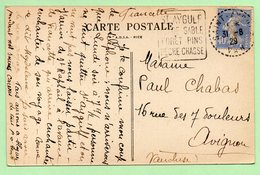 """DAGUIN - """"St AIGULF PLAGE FORET PINS PECHE CHASSE"""" - Bloc Dateur à Tirets 1929 - - 1921-1960: Modern Period"""