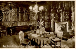 CUMBRIA -ULVERSTON - OAK ROOM, CONISHEAD PRIORY CONVALESCENT HOME FOR DURHAM MINE WORKERS RP  Cu1226 - Cumberland/ Westmorland
