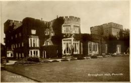 CUMBRIA -PENRITH - BROUGHAM HALL RP  Cu1227 - Cumberland/ Westmorland