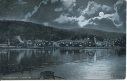 CUMBRIA - WINDERMERE LAKESIDE - MOONLIT 1903  Cu652 - Cumberland/ Westmorland