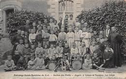 CPA Patronage Sainte-Madeleine Du S.C - Section Des Petits - Angers - Colonie De Vacances : Les Colons - Angers