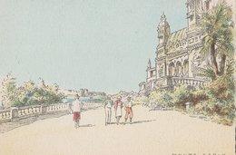 Barré & Dayez. Illustrateurs: Signé: P. Charlemagne. MONTE-CARLO (Monaco). Terrasse Du Casino. N°2312 D - Illustrators & Photographers