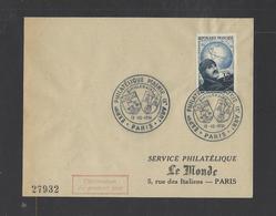 FRANCE.  YT FDC   N° 907 Oblitération 1er Jour  13-10-1951 - FDC