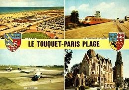 > Transports > Aviation > Aérodromes/  LE TOUQUET  / PLI COIN  LOT 751 - Aérodromes