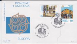 Spanish Andorra 1990 FDC Europa CEPT (DD11-31) - Europa-CEPT
