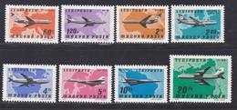 HONGRIE AERIENS N°  392 à 399 ** MNH Neufs Sans Charnière, TB (D9023) Avions Commerciaux - 1977 - Poste Aérienne