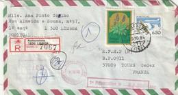 Portugal - Lettre Avec Timbres - - 1910-... République