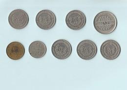 Syrie - Lot De 9 Pièces - 1 Pound 1979 - 10 Piastres - 50 Piastres - Siria