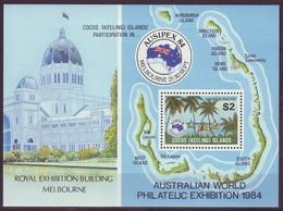 Cocos (Keeling) Islands, 1984, AUSIPEX, Souvenir Sheet, MNH, Mi# Bl. 3 - Islas Cocos (Keeling)