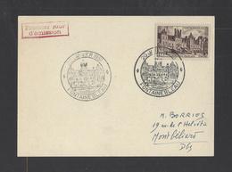 FRANCE.  YT FDC   N° 878  Oblitération 1er Jour  20-1-1951 - 1950-1959
