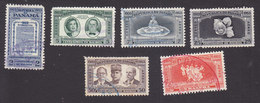 Panama, Scott $C140-C145, Used, Founding Of The Republic, Issued 1953 - Panama