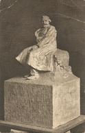 GIUSEPPE VERDI - Bozzetto Monumento A TRIESTE Di LAFORET - F. PICCOLO - VIAGGIATA 1925 - (rif. L87) - Music And Musicians