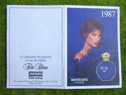 Calendrier De Poche 1987 - Calendars