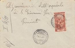 1950 Lotto 10 Buste Viaggiate (A) Italia Al Lavoro (L. 25), Annulli Del Periodo - 6. 1946-.. Repubblica