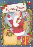 Postal Stationery . Birds - Bullfinches - Santa Claus Greeting - Finnish Heart Association - Finland - Postage Paid - Finlandia