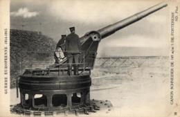 GUERRE EUROPEENNE DE 1914-1915 - Canon Schneider De 149 M/m De Forteresse - (n°38). - Guerre 1914-18