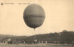 BELGIQUE - Armée Belge - Ballon Militaire Libre. - Oorlog 1914-18