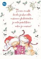Postal Stationery - Bird - Bullfinch - Teddy Bears - Mannerheim League For Child Welfare - Suomi Finland - Postage Paid - Finlandia