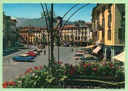 LOCARNO - AUTOS : PORSCHE 356, OPEL, MERCEDES ..................... - Voitures De Tourisme