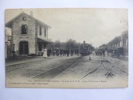 Bourg Et Comin.   La Gare Du C.B.R. - France