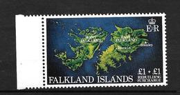 Y & T N° 367 ** (Cartes Des Iles Falkland) - Falkland