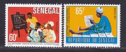 SENEGAL N°  468 & 469 ** MNH Neufs Sans Charnière, TB (D9025) Journée De L'alphabétisation - 1977 - Senegal (1960-...)