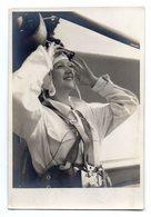 Carte Photo Parachutiste Andhrée Bourdelin .- Blanc & Demilly Portraits Lyon . - Airmen, Fliers