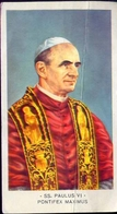 Santino - Ss.paulus VI - Pontifex Maximus - Fe1 - Images Religieuses
