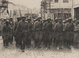 Photo De Presse Guerre 1914 1918 Troupes Russes Monastir Front D'orient Macédoine - 1914-18
