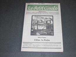 LE PETIT CAROLO - N°23 DU 4/5/1945 - L'ATLAS LA KASBA - SIEGE MONTIGNY LE TILLEUL. - Newspapers