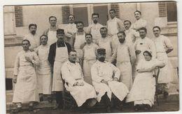 Carte Photo Chirurgien Médecin Militaire Guerre 1914 1918 Personnel Soignant Hopital Militaire - 1914-18