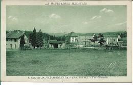 Gare De St PAL St ROMAIN  Vue Générale - France