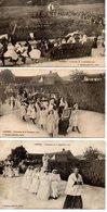 Camiers : Cérémonie Du 22 Sept. 1912 3 Cpa - France