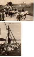 Camiers : Cérémonie Du 22 Sept. 1912 2 Cpa - France