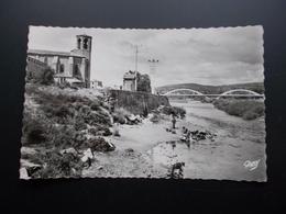 LANGEAC Les Bords De L'Allier  Années 50 - Langeac