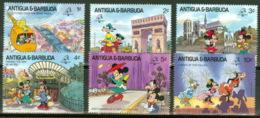 Antigua Und Barbuda 1242/47 ** Walt-Disney-Figuren - Disney