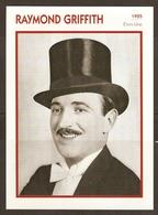 PORTRAIT DE STAR 1925 ETATS UNIS USA - ACTEUR CINEMA MUET RAYMOND GRIFFITH PHOTO STAR FILM - ACTOR CINEMA MUTE - Fotos