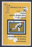190031411  CUBA  YVERT   HB  Nº  34  **/MNH - Hojas Y Bloques