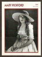 PORTRAIT DE STAR 1925 ETATS UNIS USA - ACTRICE CINEMA MUET MARY PICKFORD PHOTO KOBALL - ACTRESS CINEMA MUTE - Fotos