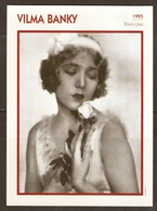PORTRAIT DE STAR 1925 ETATS UNIS USA - ACTRICE CINEMA MUET VILMA BANKY PHOTO CINE PLUS - ACTRESS CINEMA MUTE - Fotos