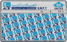 Morocco - ONPT - L&G - Phone Pattern - 702B - 1997, 50U, 100.000ex, Used - Maroc