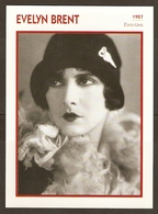 PORTRAIT DE STAR 1927 ETATS UNIS USA - ACTRICE EVELYN BRENT PHOTO KOBAL - ACTRESS CINEMA MUTE - Fotos