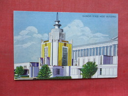 Illinois State Host Building  Chicago  1933 Expo >>  Ref 3346 - Exhibitions