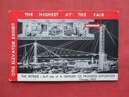 The Skyride   Otis Elevator   Chicago  1933 Expo >>  Ref 3346 - Exhibitions