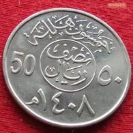 Saudi Arabia 50 Halala 1987  / 1408 KM 64  Arabia Saudita Arabie Saoudite - Saudi Arabia