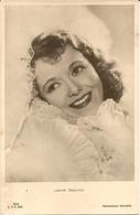 JANET GAYNOR - FORMATO PICCOLO - VIAGGIATA 1937 - (rif. L95) - Actors