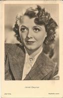 JANET GAYNOR - FORMATO PICCOLO - VIAGGIATA 1937 - (rif. L96) - Acteurs