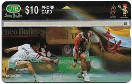 Brunei - JTB - L&G - Badminton - 906C - 1999, 10B$, 100.000ex, Used - Brunei