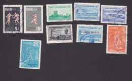 Panama, Scott #C224, C335, C230-C233, 450, C234, C236, Used, Sports, Buildings, Issued 1959-60 - Panama