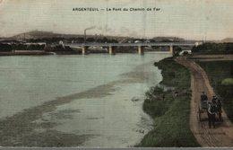 95 ARGENTEUIL  LE PONT DE CHEMIN DE FER - Argenteuil